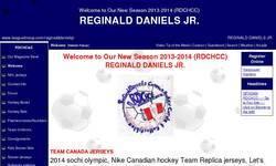 Screenshot of Reginald daniels jr
