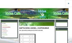 Screenshot of IDDAA CAFE