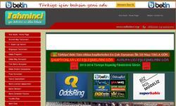 Screenshot of Tahminci