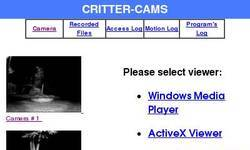 Screenshot of Bruce's Critter-Cams
