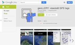Screenshot of geoLLERY@Google Play