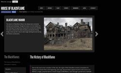 Screenshot of House of Blackflame - Roleplay Chatrooms