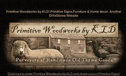 Screenshot of Primitive Woodworks by KLD
