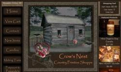 Screenshot of Crow's Nest Primitive Shoppe
