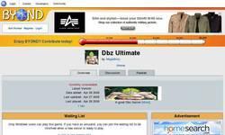 Screenshot of Ultimate Dbz