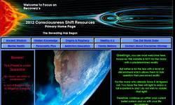 Screenshot of 2012 Consciousness Shift Resources