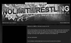 Screenshot of NLW - No Limit Wrestling
