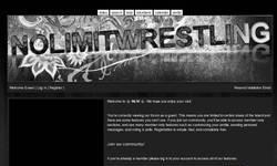 Screenshot of NLW - No Limit Wrestling