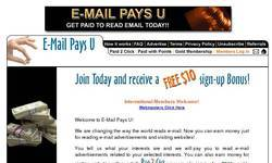 Screenshot of e-mailpaysu