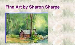Screenshot of Fine art prints by Sharon Sharpe