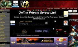Screenshot of MMORPG Private Servers