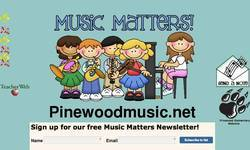 Screenshot of Pinewoodmusic.net