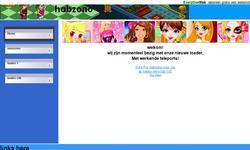 Screenshot of habzono voor jou
