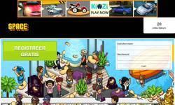 Screenshot of Spacehotel.be | Gratis credits | Altijd Online! | 24/7 Radio!