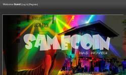 Screenshot of SAMECOIN