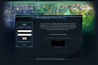 Screenshot of Phoenix Legend