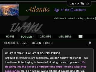 Screenshot of IwakuRoleplay.com
