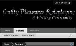 Screenshot of Guilty Pleasures Roleplaying
