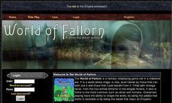Screenshot of World of Fallorn