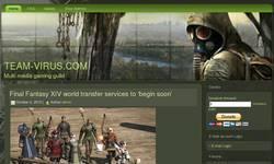 Screenshot of Team Virus - MMORPG & Online Gaming Community