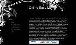 Screenshot of Easy Money Online
