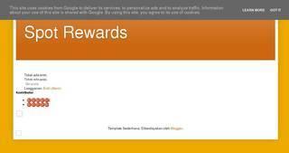 Screenshot of http://spotrewards.weebly.com
