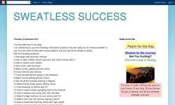 Screenshot of SWEATLESS SUCCESS