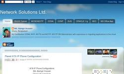 Screenshot of Network Solutions Ltd.