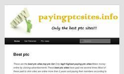 Screenshot of best ptc sites