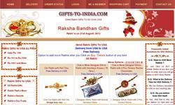 Screenshot of www.gifts-to-india.com