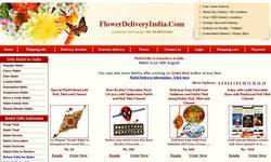 Screenshot of www.flowerdeliveryindia.com