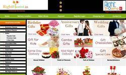 Screenshot of Flowers Delivery in India Online Cakes Delivery in India: Low Cost Delivery