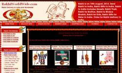 Screenshot of www.rakhiworldwide.com