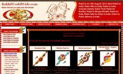 Screenshot of www.rakhiworldwide.com/rakhi2.asp