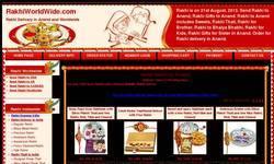Screenshot of http://www.rakhiworldwide.com/rakhigifts/send_rakhi_to_Anand.asp