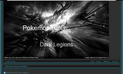 Screenshot of Pokemon RPG:Dark Legions