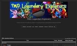 Screenshot of PMD legendary explorers.