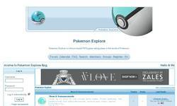 Screenshot of Pokemon Explore