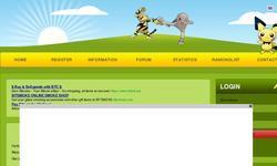 Screenshot of Pokemonsky [webbased game!]