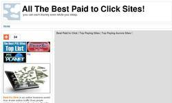 Screenshot of Most Trusted Paid to Click Sites!
