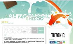 Screenshot of SHIZOO DESIGN