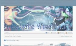 Screenshot of Caustic Wrestling