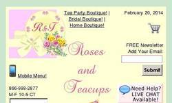 Screenshot of Roses and Teacups