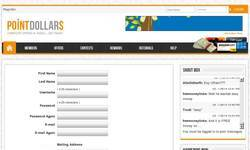 Screenshot of PointDollars