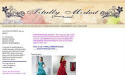 Screenshot of Wedding Dress Modesty