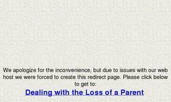 Screenshot of Dealing with the Loss of a Parent