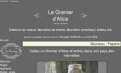 Screenshot of LE GRENIER D'ALICE
