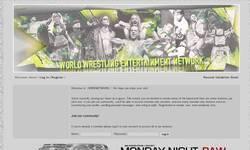 Screenshot of world wrestling entertainment .NETWORK
