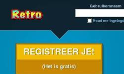 Screenshot of Retro Hotel BE/NL