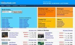 Screenshot of HotelPushpak.com